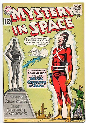 MYSTERY IN SPACE 79 ADAM STRANGE COVER