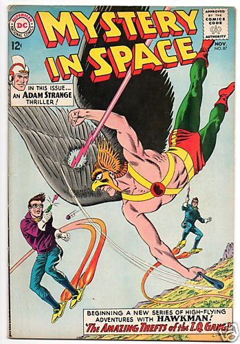 MYSTERY IN SPACE 87 HAWKMAN X-OVER