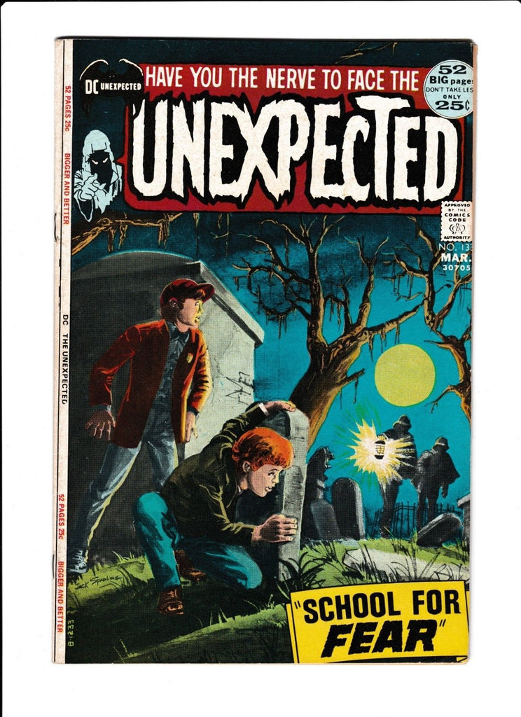 The Unexpected No.133 : 1972 : : Greytone Cover :