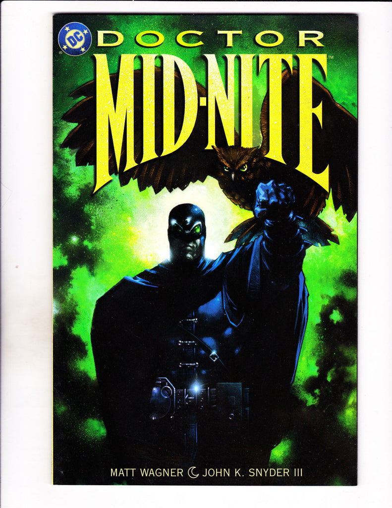 Doctor Mid-Nite No 1-3 (Set) 1999 DC Three Book Set