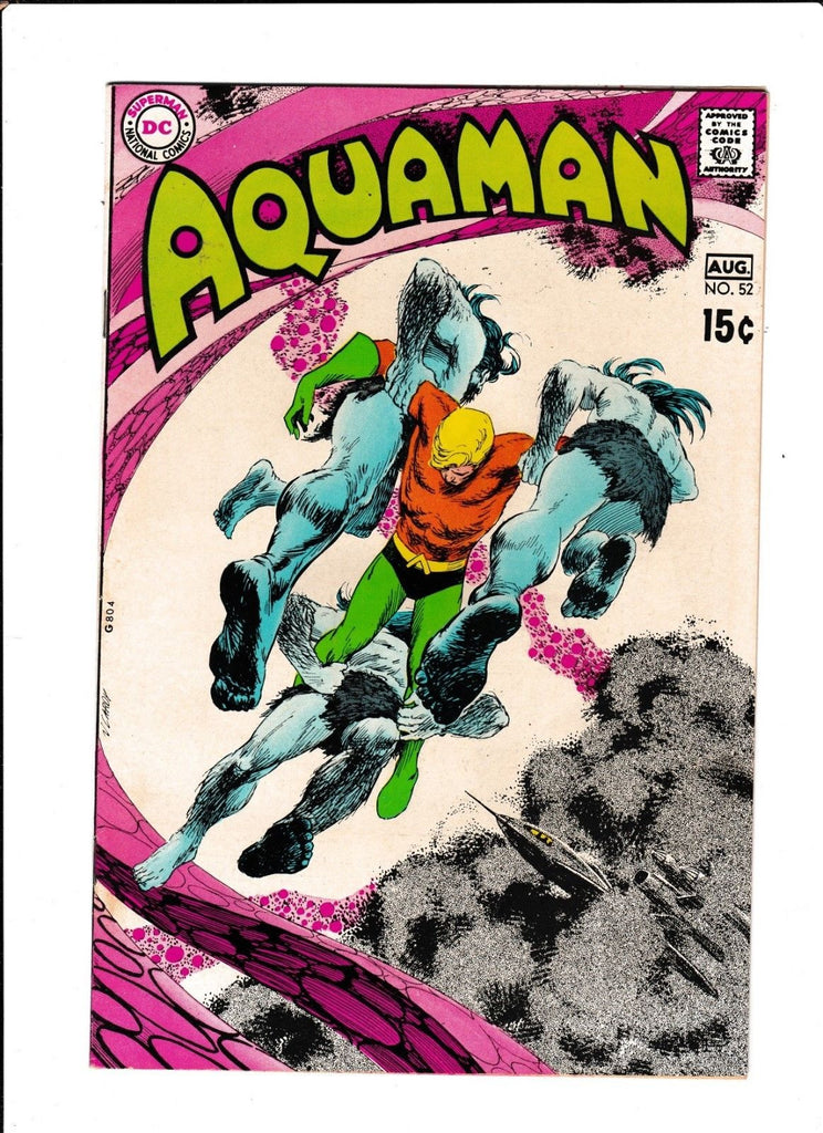 Aquaman No.52 : 1970 : : Neal Adams Art :