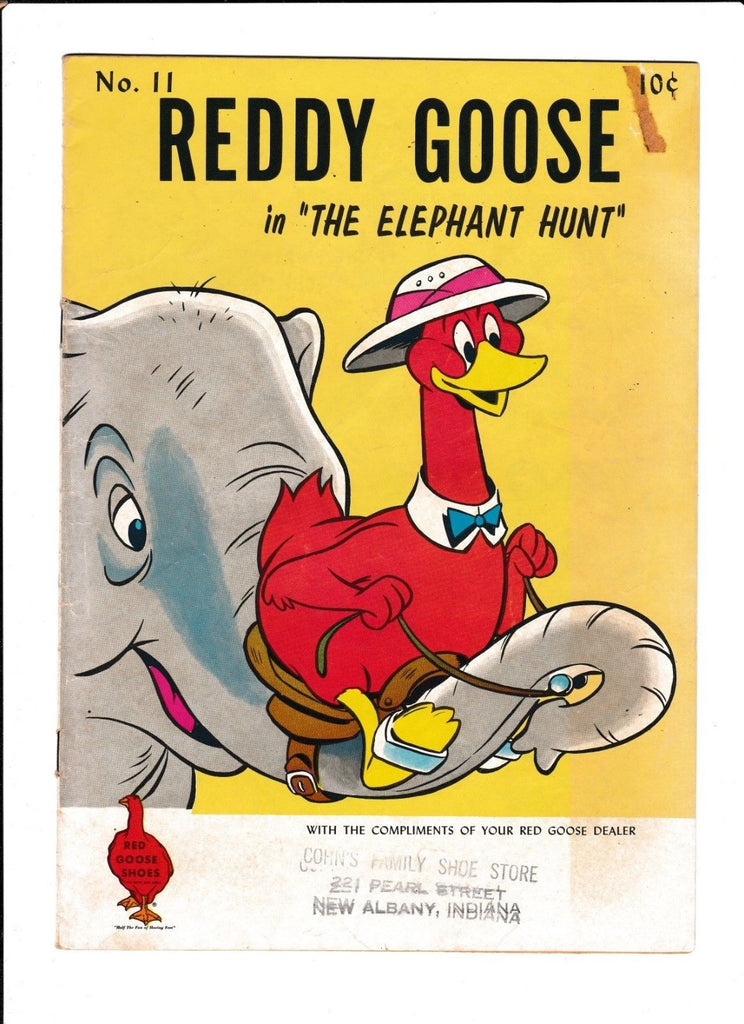 REDDY GOOSE #11 [1960's? GD+] SHOE STORE GIVEAWAY