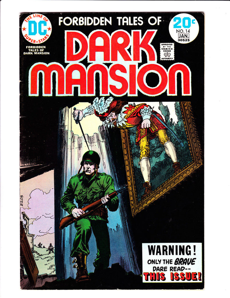 Forbidden Tales Of Dark Mansion No.14 :1974: : Soldier Cover :