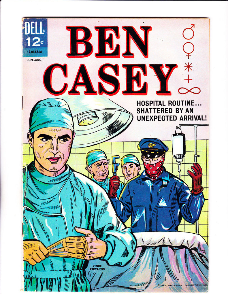 Ben Casey No.10 : 1965 : : Operating Room Cover :