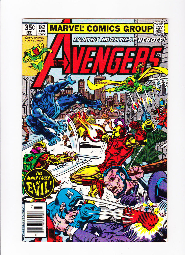 Avengers 182 :: The Many Faces of Evil  ::