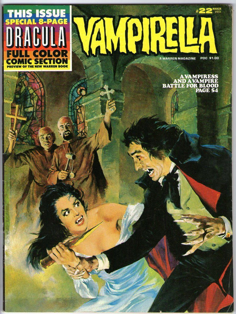 Vampirella 22 Full Color Sotry Inside Warren Magazine