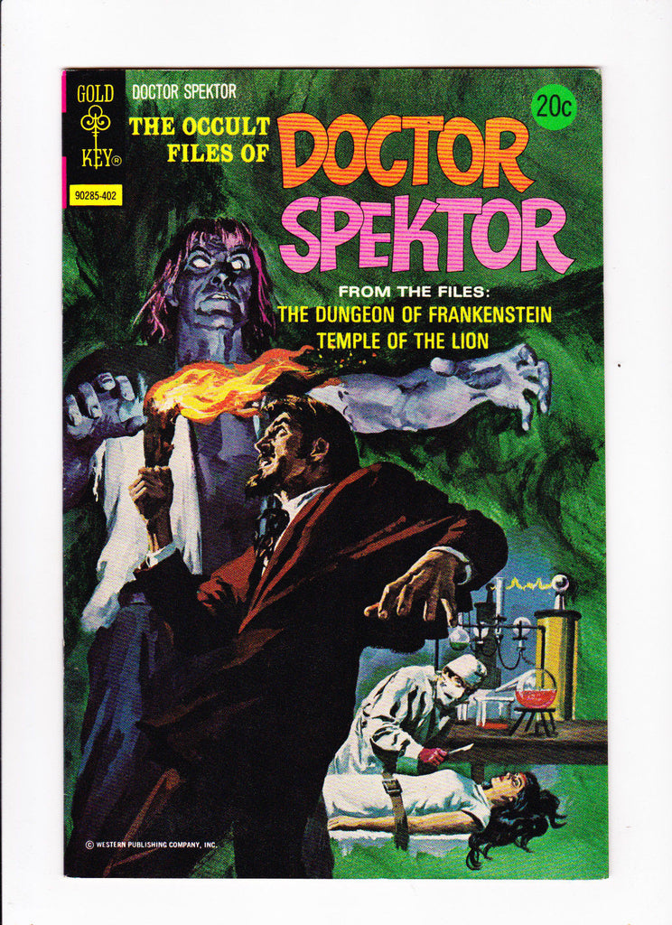 The Occult Files Of Doctor Spektor No.6 :: 1974 :: :: Laboratory Cover ::