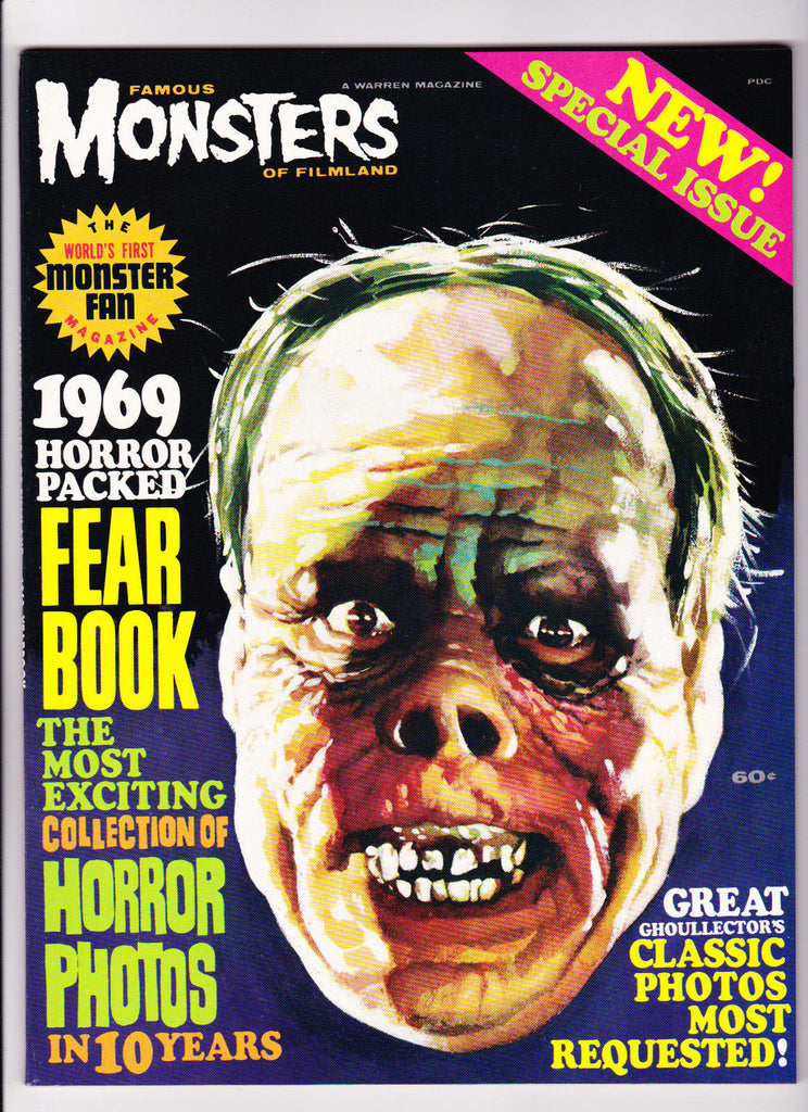 Famous Monsters Of Filmland : 1969 : : Yearbook Issue :
