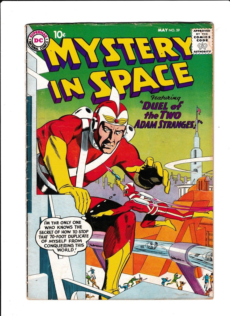 Mystery In Space No.59 : 1960 : :