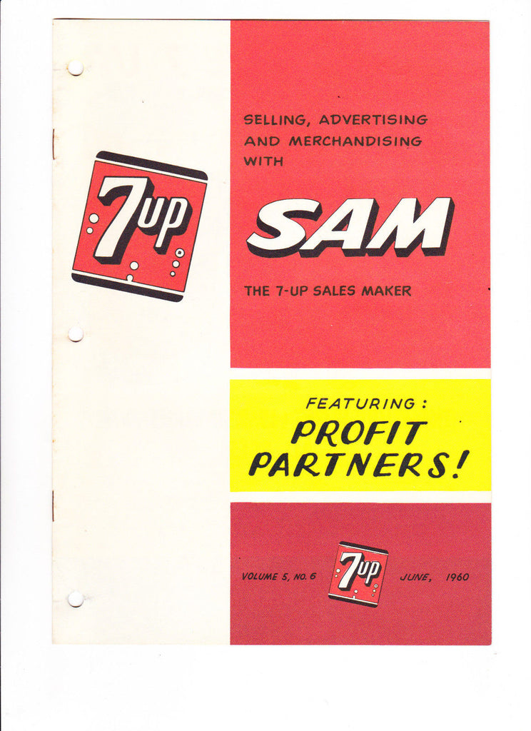 7UP SAM VOL 5 #6 1960 7UP Soda Giveaway Comic Very Scarce Item