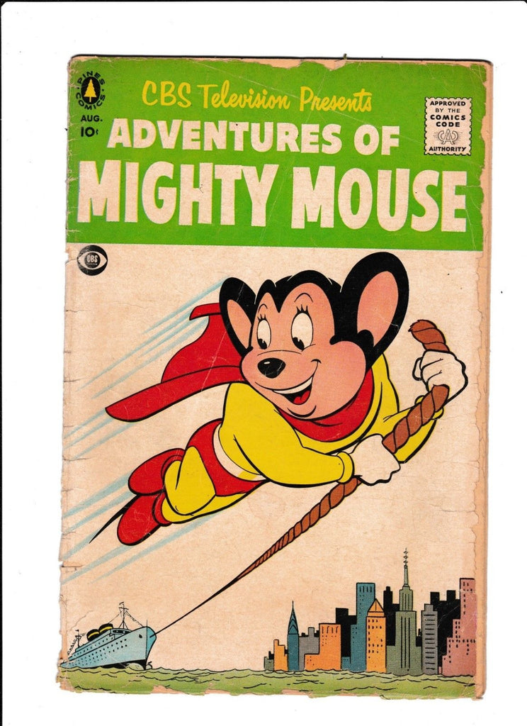 Adventures Of Mighty Mouse : 1956 : : Skyline Cover :