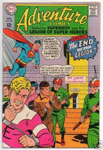ADVENTURE COMICS :: 359 :: THE END OF THE LEGION