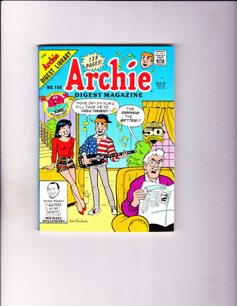 Archie Digest Magazine No.108 -1991