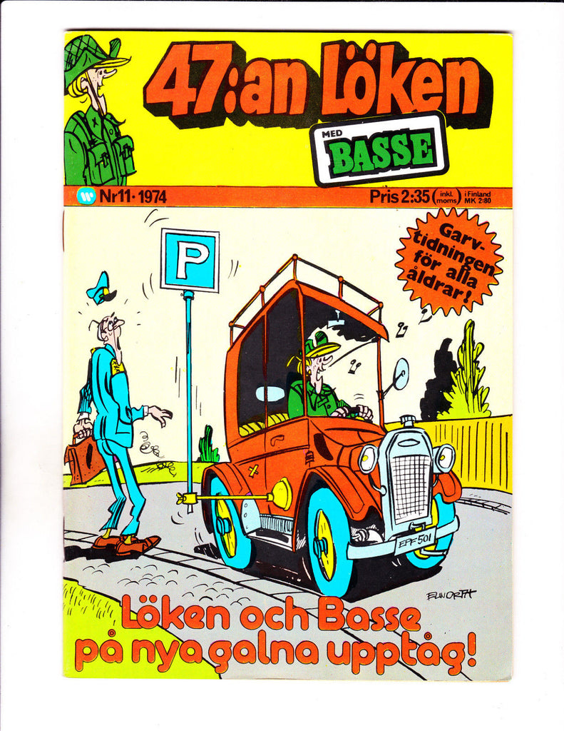 47:an Loken No 11-1974 - Swedish Sad Sack -