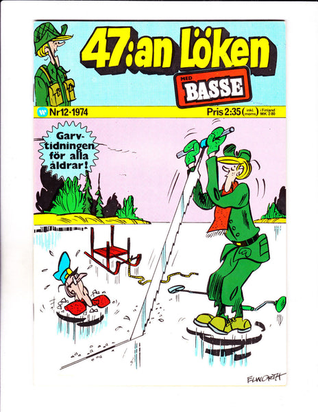 47:an Loken No 12-1974 - Swedish Sad Sack -