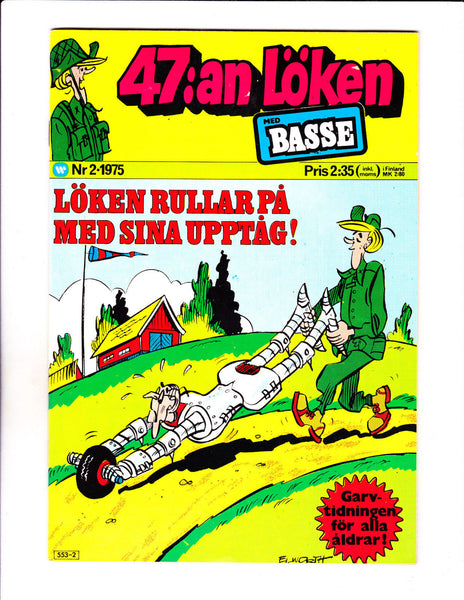 47:an Loken No 2-1975 - Swedish Sad Sack -