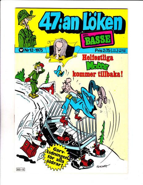 47:an Loken No 12-1975 - Swedish Sad Sack -