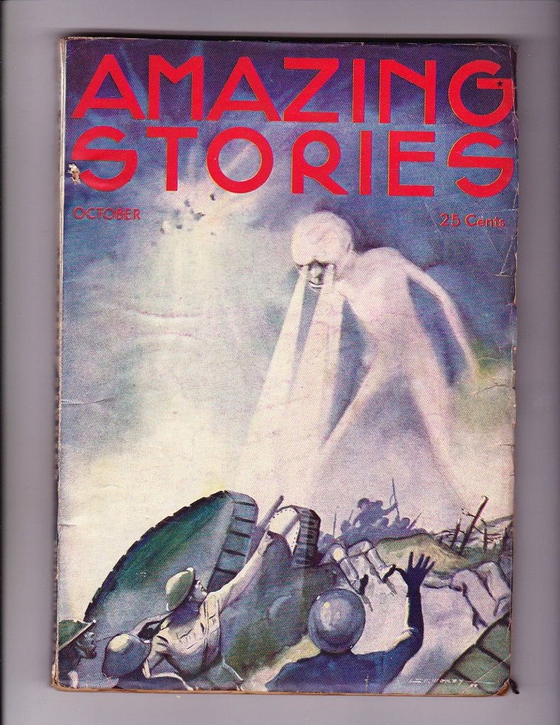 Amazing Stories October 1933 1st Pulp Size edition