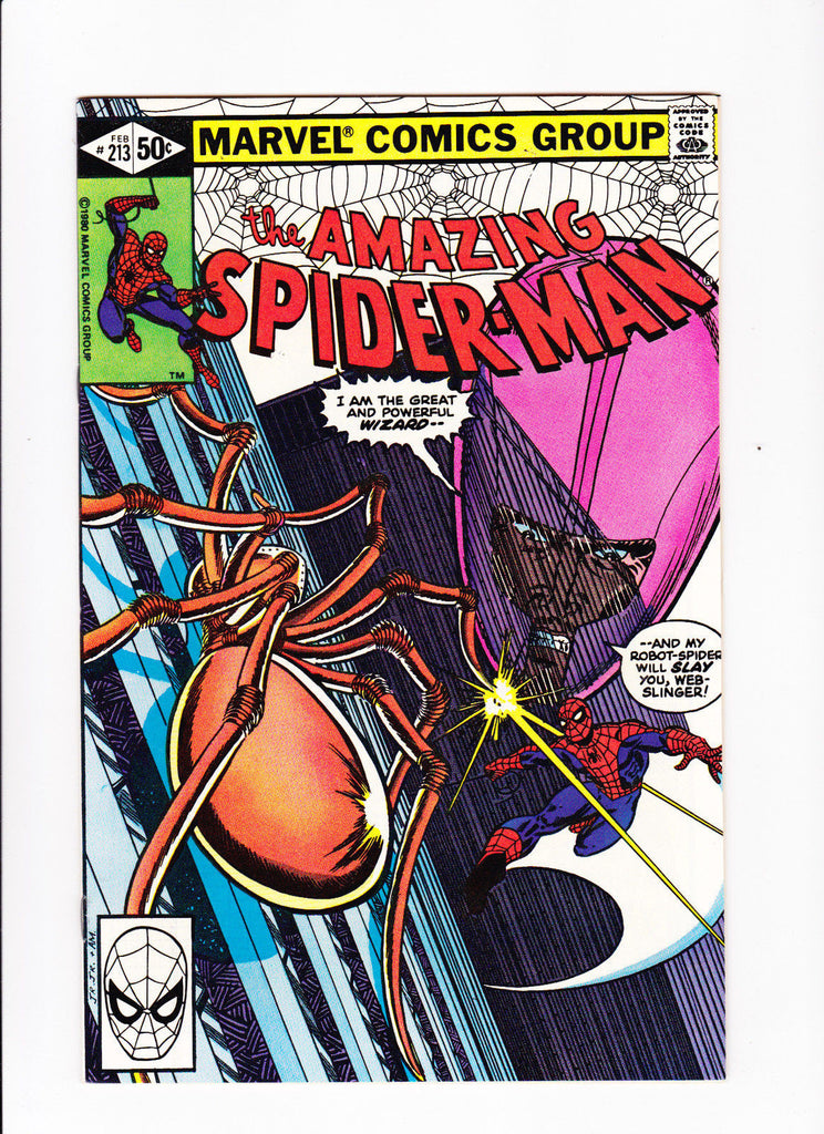Amazing Spider-Man No.213 :: 1981 :: :: HIGH GRADE ::