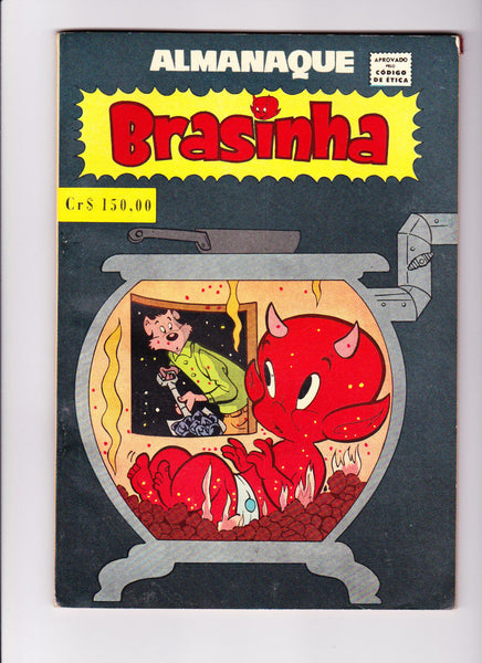 Almanaque Brashina 1962 Hot Stuff Mexican Harvey File Copy