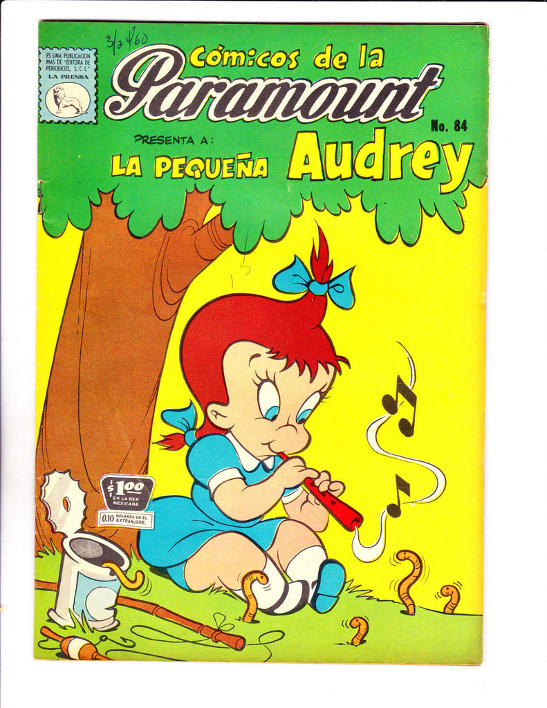 Comicos De La Paramount No 84 1960 -Spanish Little Audrey-