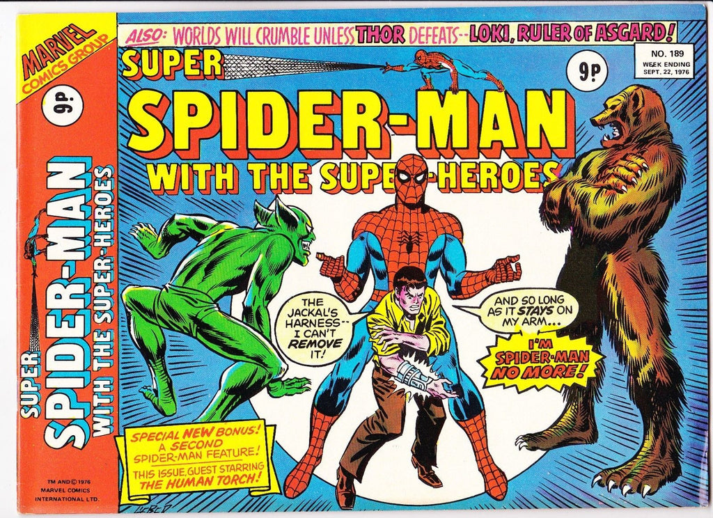 Super Spider-Man No.189 : 1976 : :