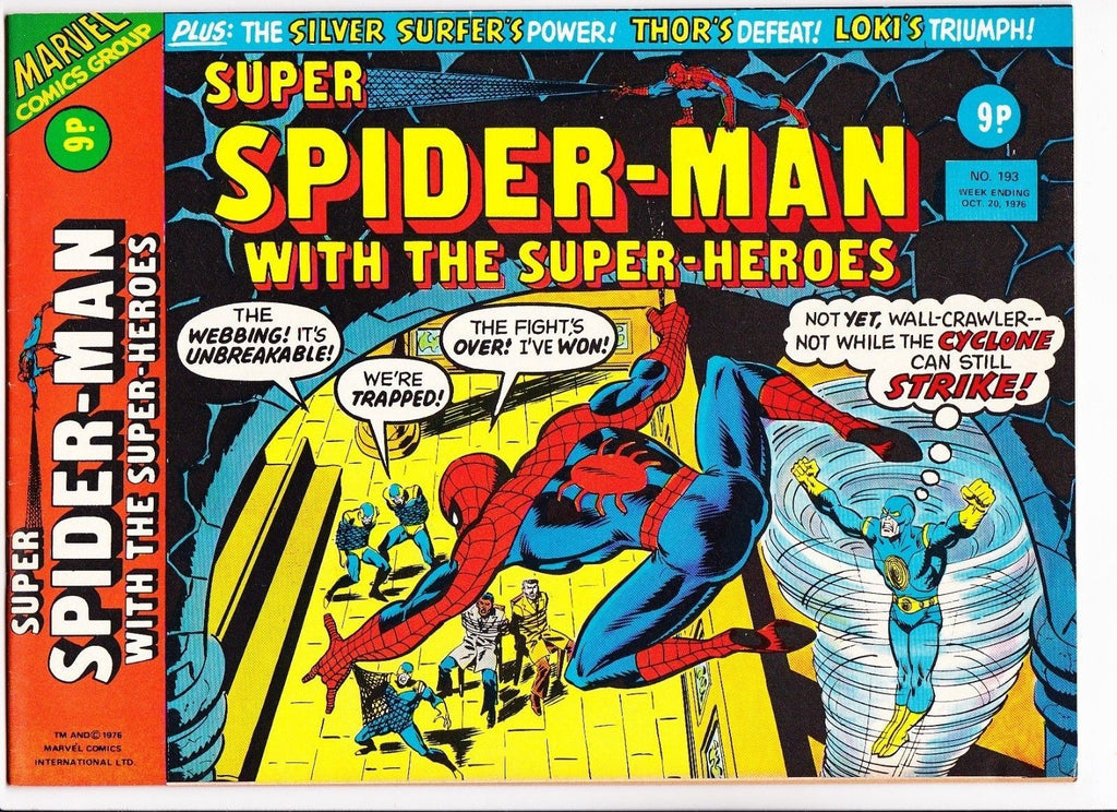 Super Spider-Man No.193 : 1976 : :