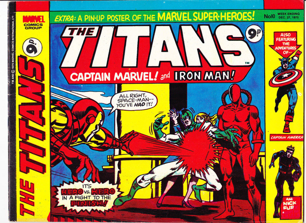 The Titans No.10 : 1975 : :