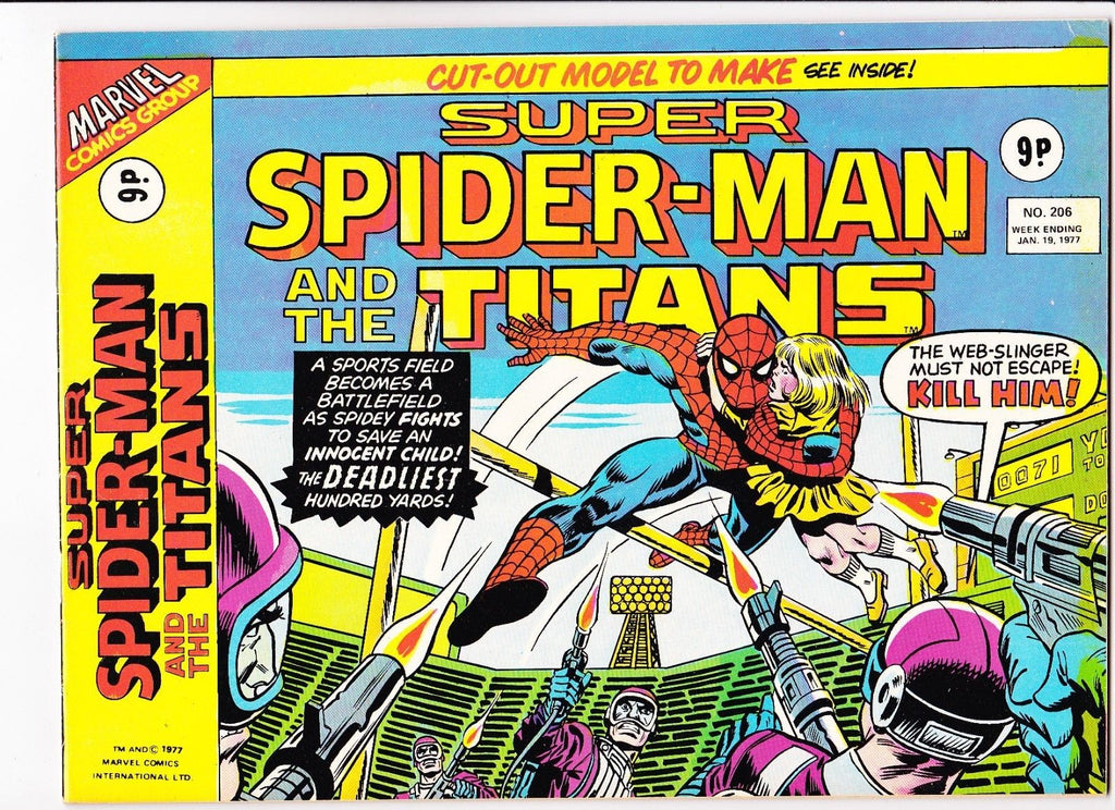 Super Spider-Man No.206 : 1977 : :