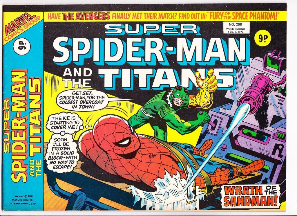 Super Spider-Man No.208 : 1977 : :