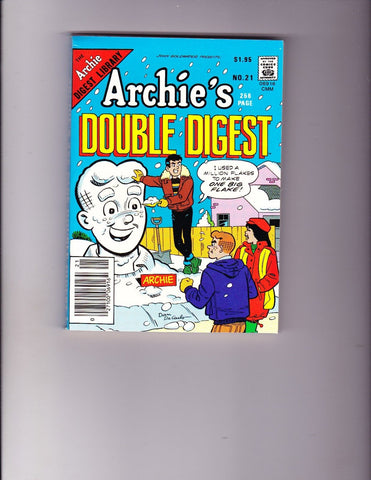 Archie's Double Digest 21 Snowball Cover VF-NM Copy