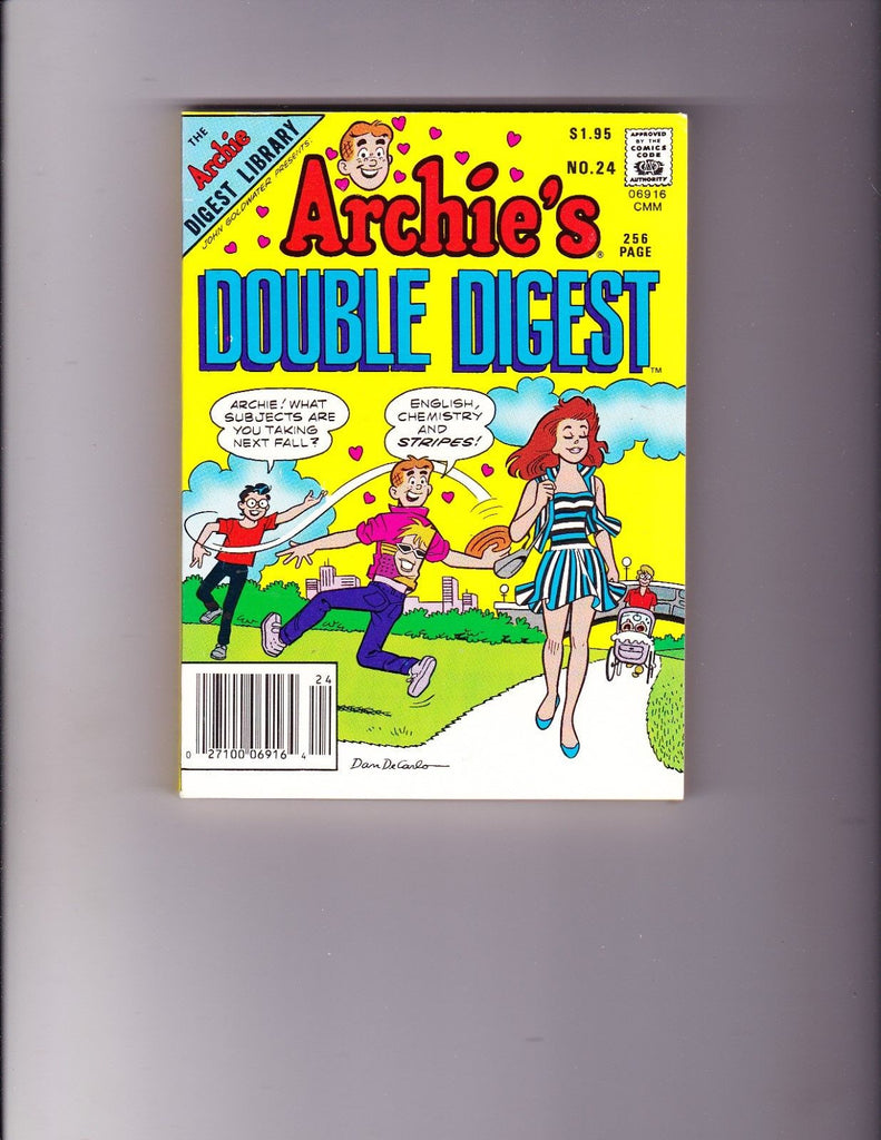 Archie's Double Digest 32 Basketball Cover VF-NM Copy