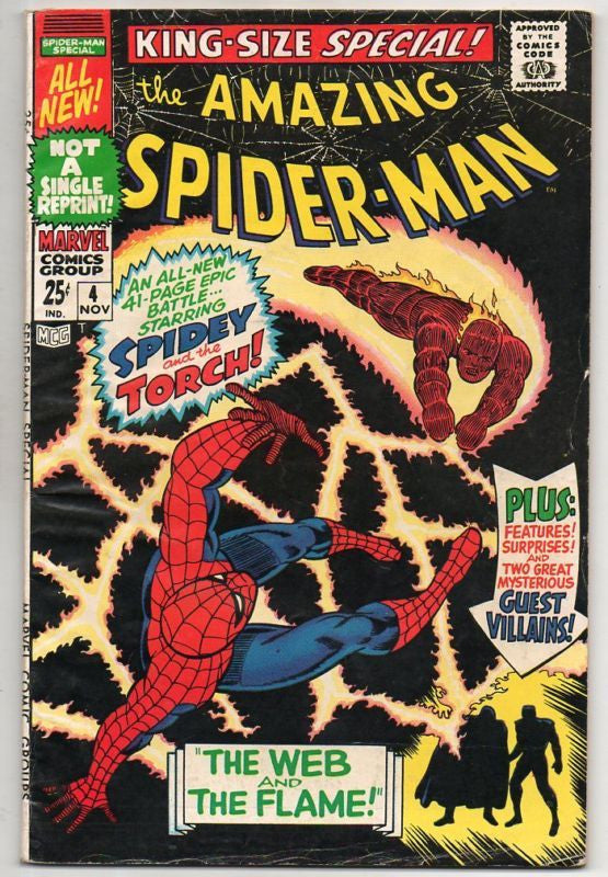 AMAZING SPIDER-MAN SPECIAL :: 4 :: THE TORCH COVER