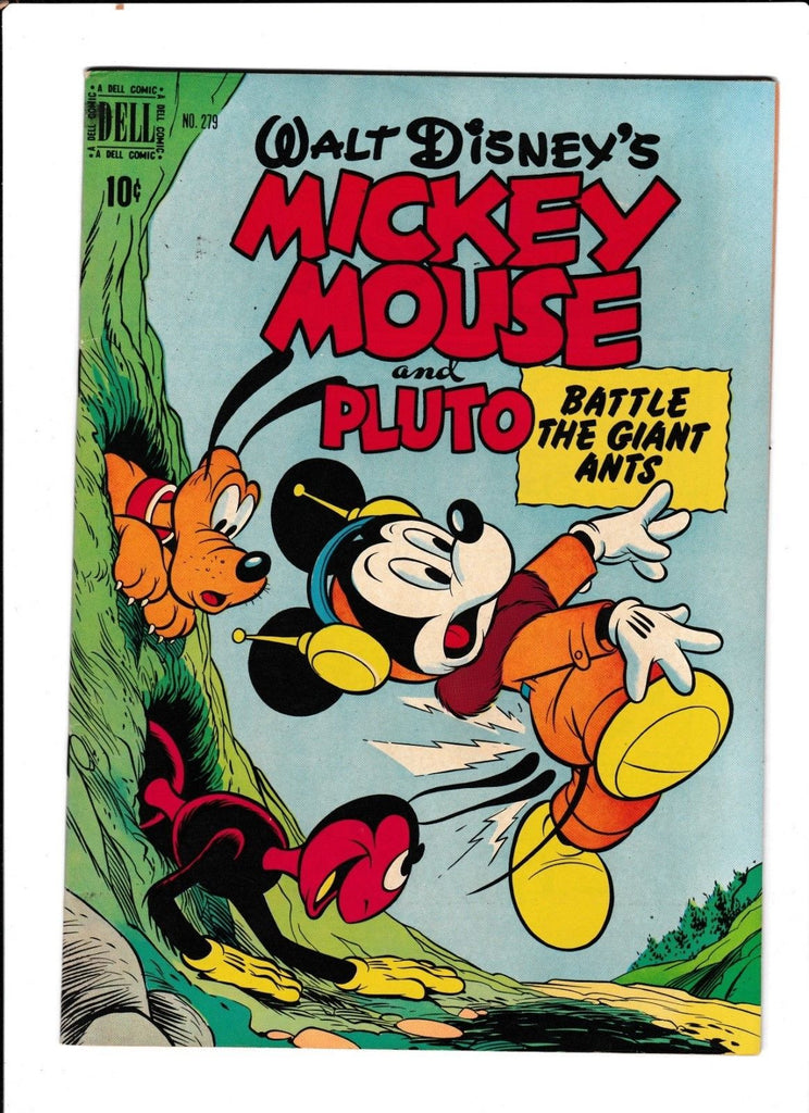 Four Color No.279 : 1950 : : Mickey Mouse & Pluto :
