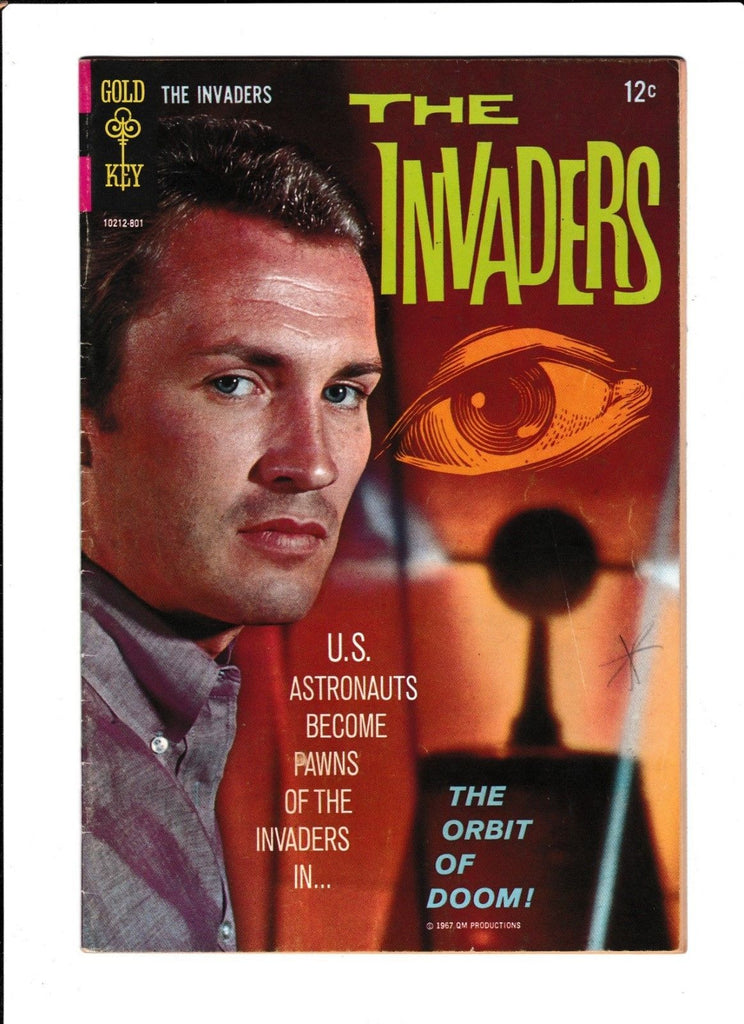 THE INVADERS #2 [1967 GD-VG]