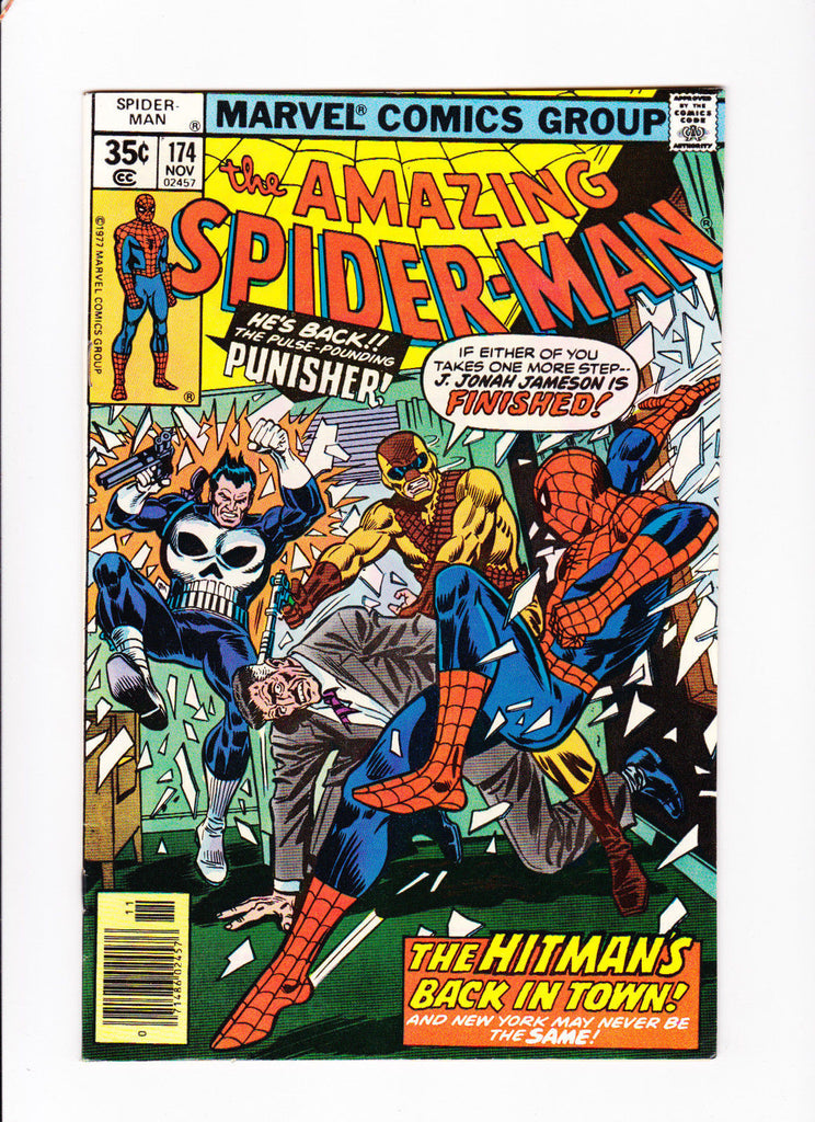 Amazing Spider-Man No.174 :: 1977 :: :: The Hitman's Back In Town ::