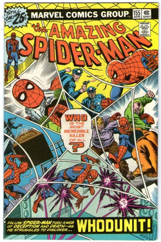 AMAZING SPIDER-MAN 155 WHODUNNIT ?? NM- COPY