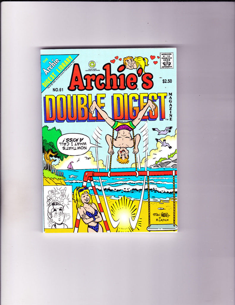 Archie's Double Digest 61 Swinging At The Beach Cover NM- Copy