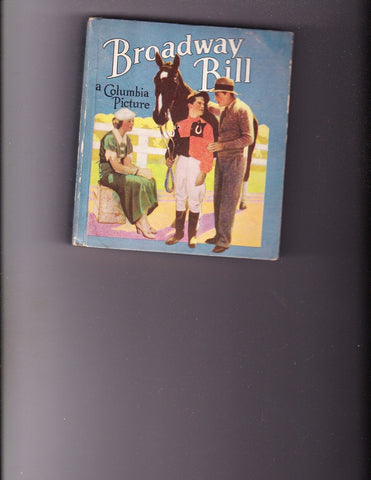 Broadway Bill 1935 Horse Racing Cover VG+ Copy