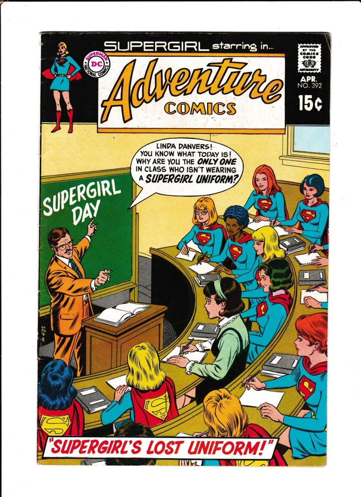 Adventure Comics No.392 : 1970 : :