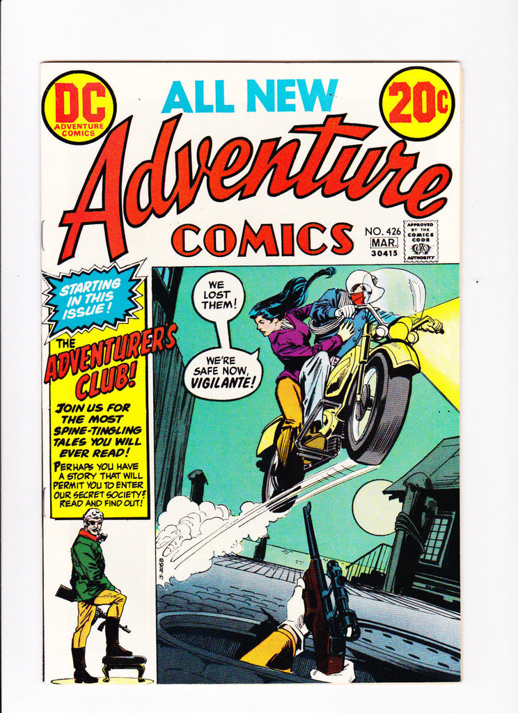 Adventure Comics No.426 :: 1973 :: :: 1st Adventures Club :: :: High Grade ::