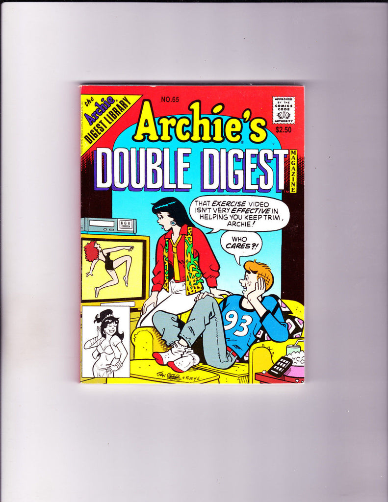 Archie's Double Digest 65 Exercise Video Cover VF/NM Copy