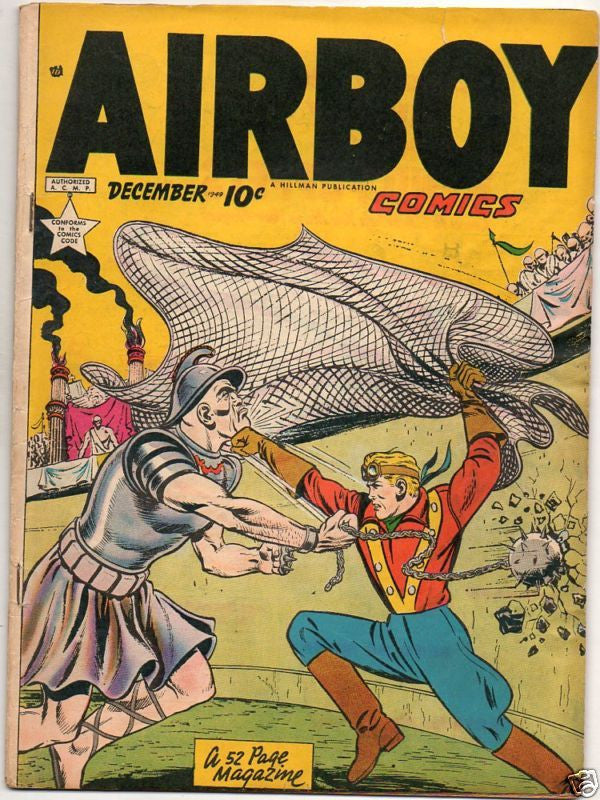 AIRBOY COMICS :: VOL 6 : #11 :: GLADIATOR ARENA