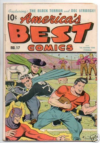 AMERICA'S BEST COMICS #17 FOOTBALL THEME COVER