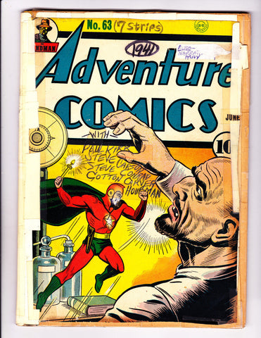 Adventure Comics 63 Starman Cover 1941 Sandman & Hourman