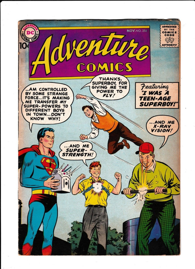 Adventure Comics No.254 : 1958 : :