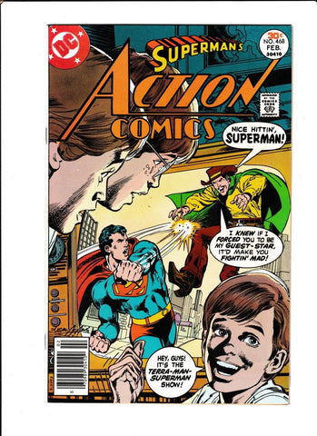 ACTION COMICS #468 [1977 FN-] NEAL ADAMS COVER