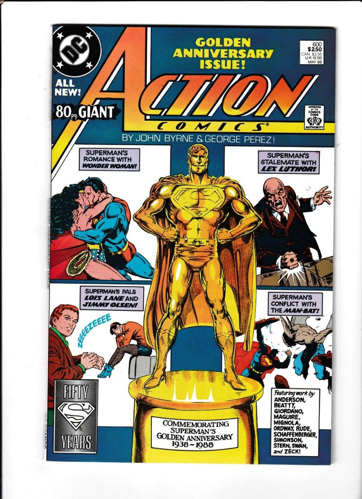 Action Comics No.600 : 1988 : : Golden Anniversary Issue :
