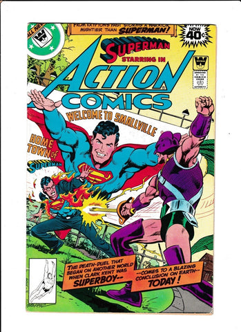 Action Comics No.495 : 1979 : : Whitman Variant :
