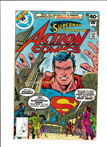 Action Comics No.496 : 1979 : : Whitman Variant :
